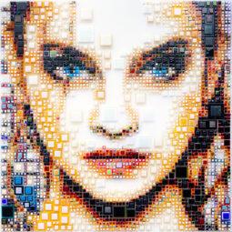 Behind blue eyes - SCHELTJENS ISABELLE - Galeries Bartoux
