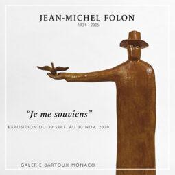 JEAN-MICHEL FOLON – Monaco - Galeries Bartoux
