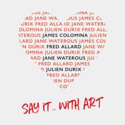 Saint-Valentin – Say it with Art - Galeries Bartoux