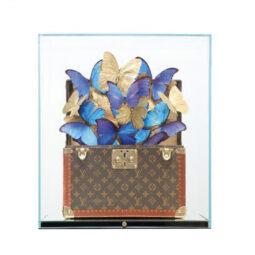Louis Vuitton Blue Gold - FERAL ROMAN - Galeries Bartoux