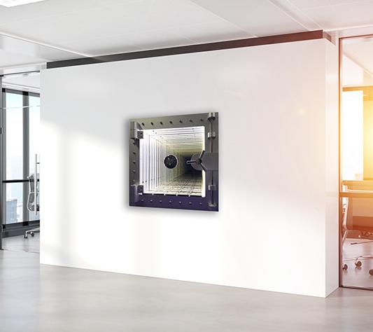Coffre safe silver ingots - NOART - Galeries Bartoux