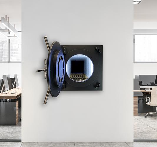 Safe black - NOART - Galeries Bartoux