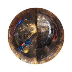 Miroir or et argent - GAIGNON CHRISTOPHE - Galeries Bartoux