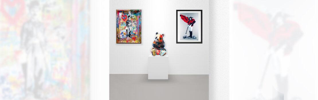 Virtual Exhibition – Mr. Brainwash – Julien Marinetti – Byc - Galeries Bartoux