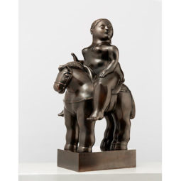 Woman on horse - BOTERO FERNANDO - Galeries Bartoux