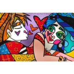 Sweet Talk Dirty Blonde - BRITTO ROMERO - Galeries Bartoux