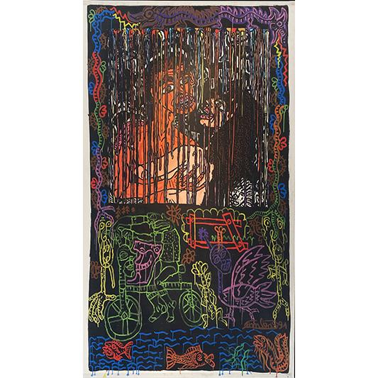 ILS SONT AMANTS, ILS S'AIMENT ET CRÉENT ENSEMBLE DES MONDES PARALLÈLES MAIS JUSQU'À QUAND ? - COMBAS ROBERT - Galeries Bartoux