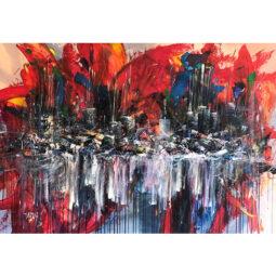 Atelier rouge n°37 - D'IZARNY FRANCOIS - Galeries Bartoux