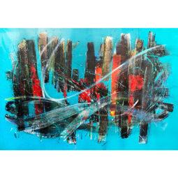 N°22 Yi Sip Song Blue - D'IZARNY FRANCOIS - Galeries Bartoux
