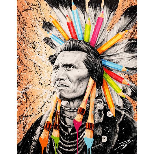 Indian Colors - DURIX JULIEN - Galeries Bartoux