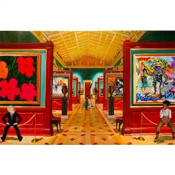 Andy, Yves and Jean-Michel meet Warhol, Dali, Klein, Giacometti, Picasso and Basquiat - GULLY - Galeries Bartoux