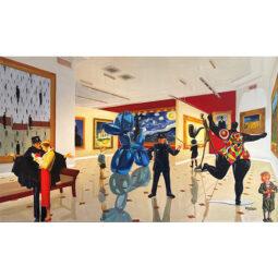 Children meet Magritte, Van Gogh, Koons, Lichtenstein, Giacometti and St Phalle - GULLY - Galeries Bartoux