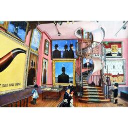 Children meet Magritte - GULLY - Galeries Bartoux