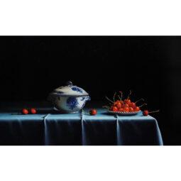 La porcelaine bleue - RUSSO PIERRE-YVES - Galeries Bartoux