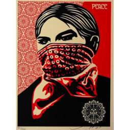 ZAPATISTA WOMAN - OBEY - Galeries Bartoux