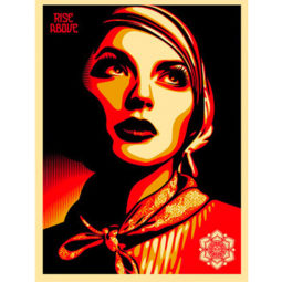 RISE ABOVE REBEL - OBEY - Galeries Bartoux