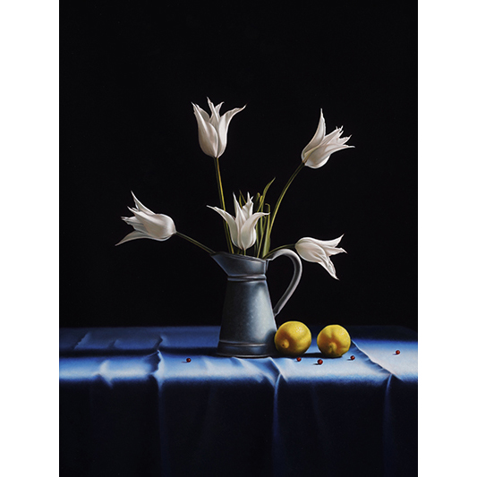 Les cinq fleurs - RUSSO PIERRE-YVES - Galeries Bartoux