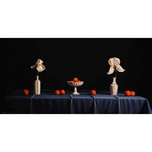Les iris blancs - RUSSO PIERRE-YVES - Galeries Bartoux
