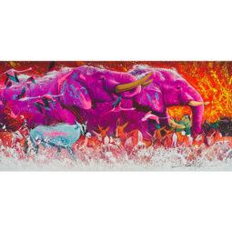 En marche vers la paix - NOE TWO - Galeries Bartoux