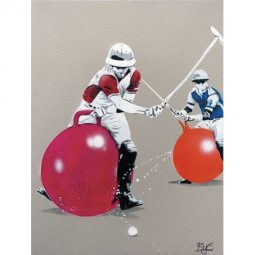 Polo on balloons - BYC - Galeries Bartoux