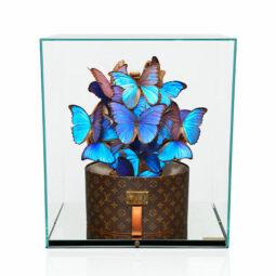 Louis Vuitton Boite Chapeau Azur - FERAL ROMAN - Galeries Bartoux