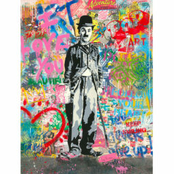Chaplin - MR BRAINWASH - Galeries Bartoux