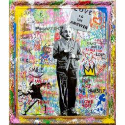 Einstein - MR BRAINWASH - Galeries Bartoux