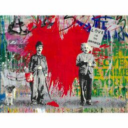 Juxtapose - MR BRAINWASH - Galeries Bartoux