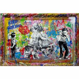 Pop Wall - MR BRAINWASH - Galeries Bartoux