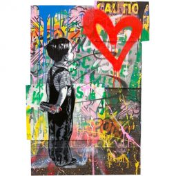 With all my love - MR BRAINWASH - Galeries Bartoux