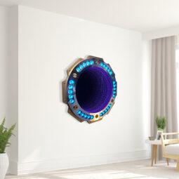 Vortex Diamond Clock - NOART - Galeries Bartoux