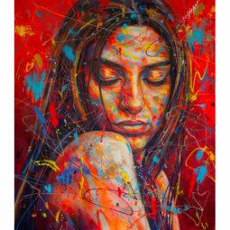Esin Pose 3 - WALKER DAVID - Galeries Bartoux