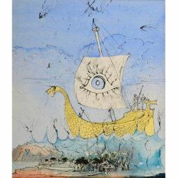 TELEMAQUE PART À PILO - DALI SALVADOR - Galeries Bartoux