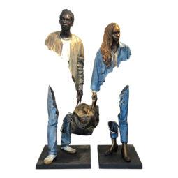 Un homme et une femme - CATALANO BRUNO - Galeries Bartoux