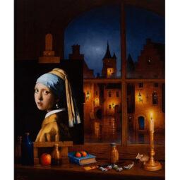 La perle de Wermeer - PELTZER MARC - Galeries Bartoux