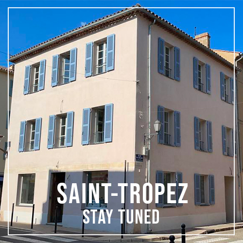 GALERIES BARTOUX OPENS IN SAINT-TROPEZ ! - Galeries Bartoux